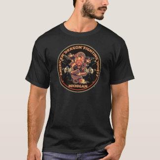 American Dragon Fighting Society T-Shirt