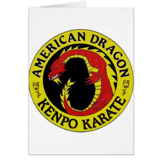 American Dragon Kenpo Karate Card
