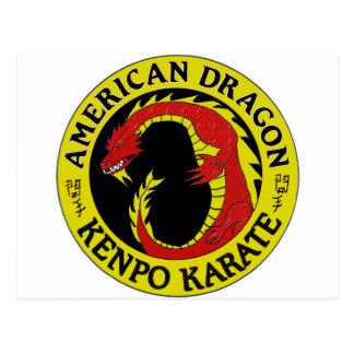 American Dragon Kenpo Karate Postcard
