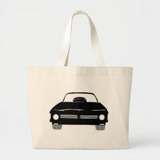 American Dragster Car Canvas Bag