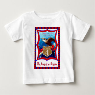 American Dream bald eagle Baby T-Shirt