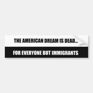 American Dream sticker Car Bumper Sticker