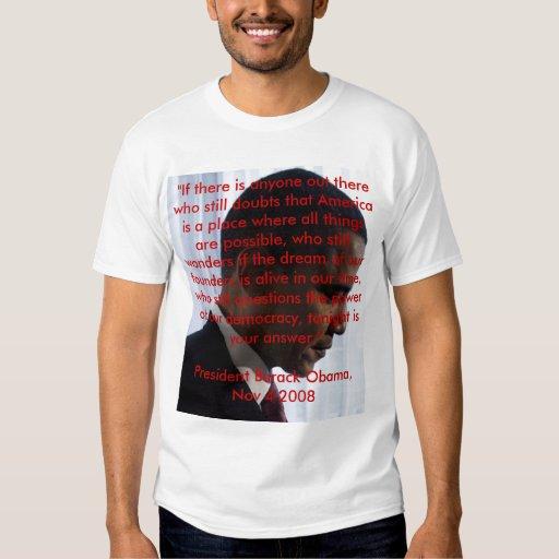 American Dream Victory Speech -OB T Shirt