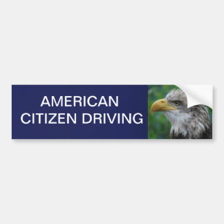 American Driver Bumper Sticker