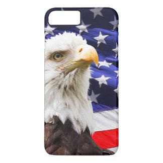 American Eagle and Flag iPhone 8 Plus/7 Plus Case