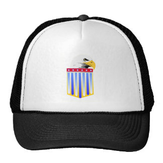 American Eagle and Shield Trucker Hat