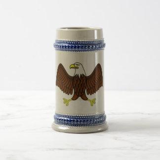 American Eagle Beer Stein