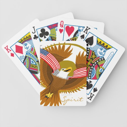 American Eagle Bicycle Card Decks