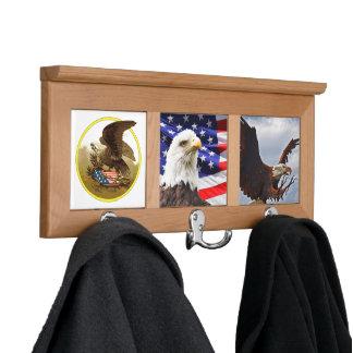 American Eagle Bird Animal Destiny Home Office Coat Rack
