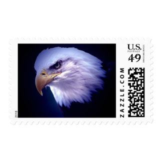American Eagle - Blue Night Postage Stamps