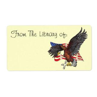 American Eagle Book Label