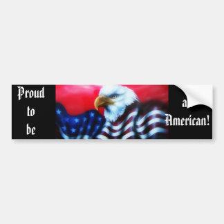 American Eagle Bumper Sticker