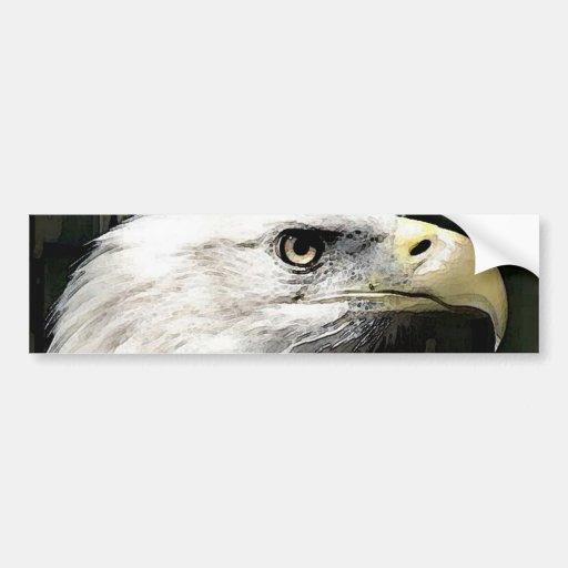 American Eagle Bumper Stickers