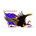 American Eagle Double-Sided Standard Business Cards (Pack Of 100)