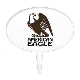 American Eagle Cake Picks