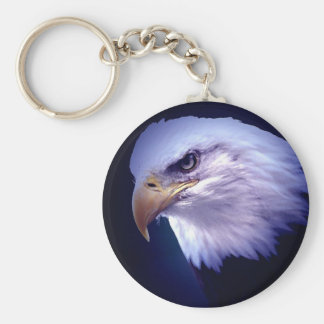 American Eagle calvo Llavero Redondo Tipo Pin