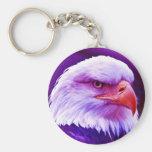 American Eagle calvo Llaveros Personalizados
