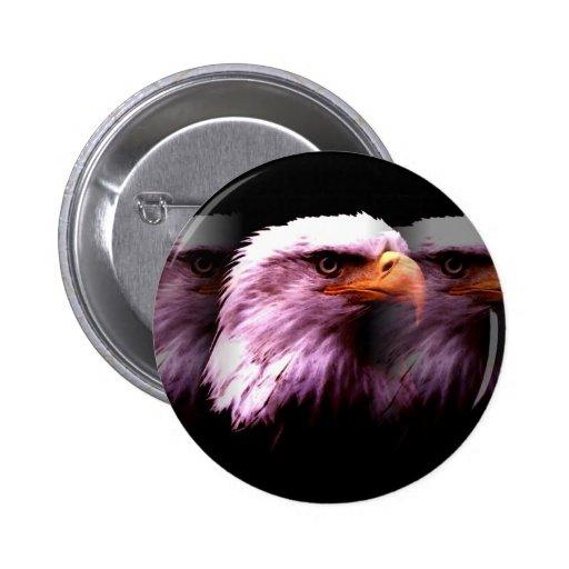 American Eagle calvo Pins
