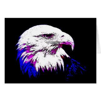American Eagle calvo Tarjeta De Felicitación
