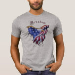 American Eagle - camiseta del cuello barco de la