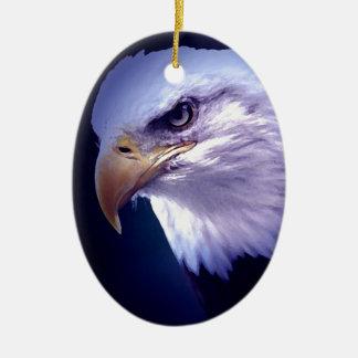 American Eagle Ceramic Ornament