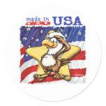 American Eagle Classic Round Sticker