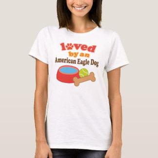 American Eagle Dog Lover Womens T-shirt