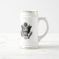 American Eagle E Pluribus Unum Beer Stein