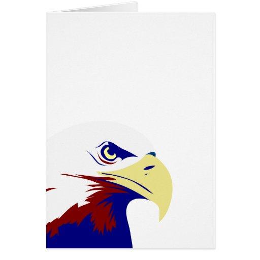 American Eagle estilizado Tarjeta