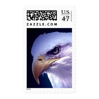 American Eagle Eye Blue Night Stamps