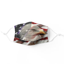 American Eagle Flag Adult Cloth Face Mask