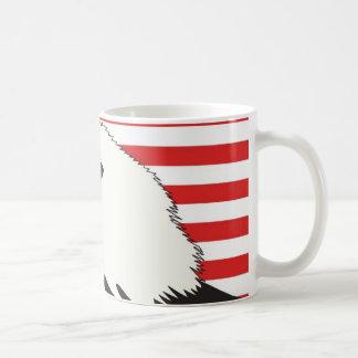 American Eagle Flag Patriotic Background Mugs