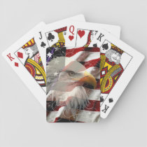 American Eagle Flag Playing Cards