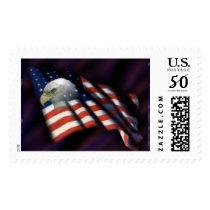 American Eagle Flag Postage