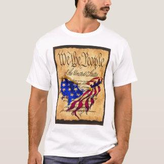 American Eagle Flag Preamble T-shirt