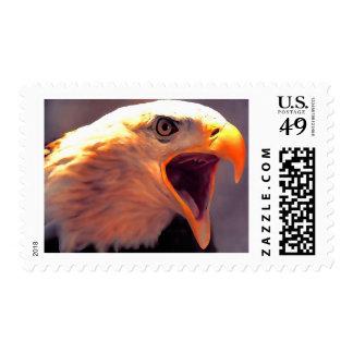 American Eagle - franqueo de Eagle calvo Sello Postal