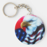 American Eagle Full Keychain