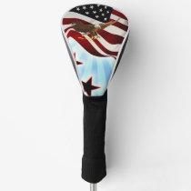 American eagle golf head cover