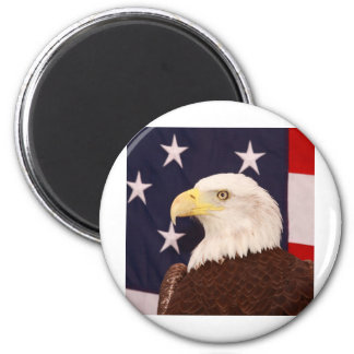 American Eagle Imán Redondo 5 Cm