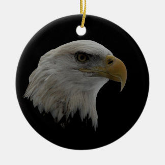 American Eagle Leadership Motivational Ceramic Ornament
