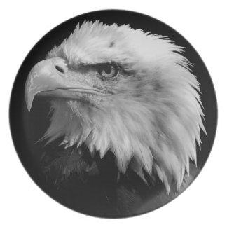 American Eagle Leadership Motivational Dinner Plate