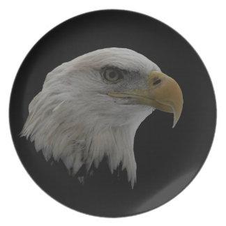 American Eagle Leadership Motivational Melamine Plate
