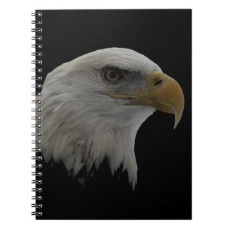American Eagle Leadership Motivational Spiral Notebook