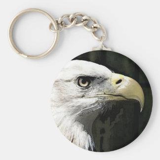 American Eagle Llavero Redondo Tipo Pin