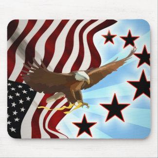 American eagle mouse pad