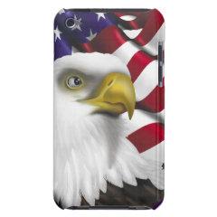 American Eagle n Flag iPod Case-Mate Cases