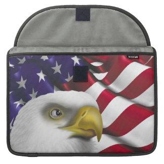 American Eagle n Flag MacBook Pro Sleeve