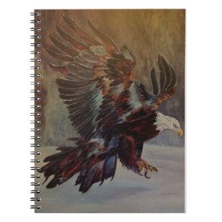 American eagle note book