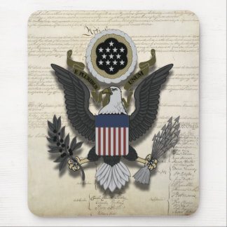 American Eagle on the Constitution Mouse Pad