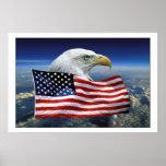 American Eagle orgulloso Poster
